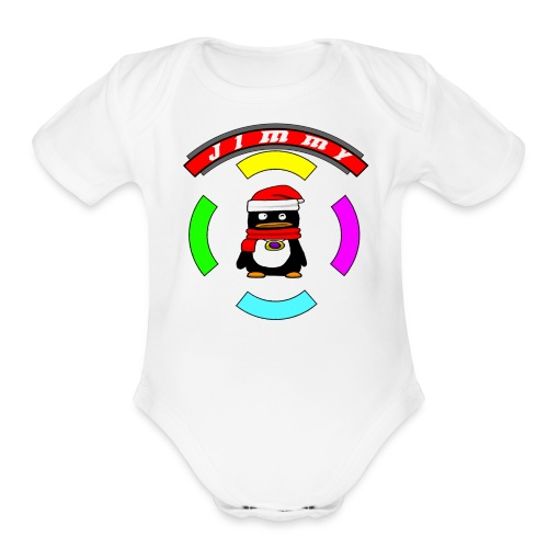 Fancy Boots Ring - Organic Short Sleeve Baby Bodysuit