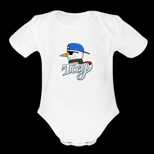 IMG 0089 - Organic Short Sleeve Baby Bodysuit