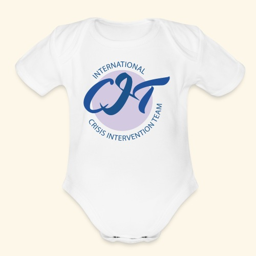 CIT logo vector file - Organic Short Sleeve Baby Bodysuit