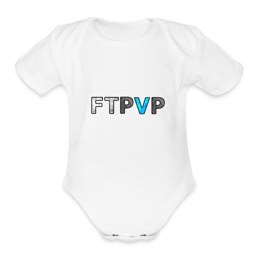FTPvP 1 - Organic Short Sleeve Baby Bodysuit