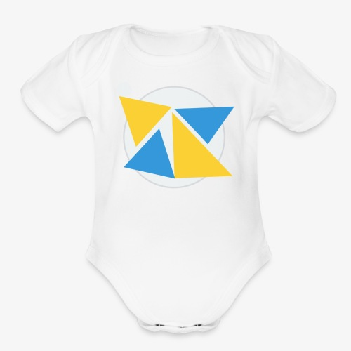 Most Awesome T-Shirt in the world - Organic Short Sleeve Baby Bodysuit