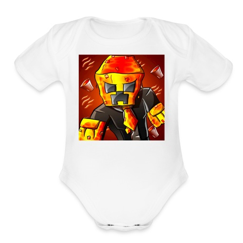 LEGENDARY11 - Organic Short Sleeve Baby Bodysuit