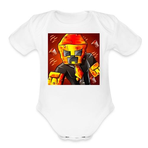 LEGENDARY11 - Organic Short Sleeve Baby Bodysuit