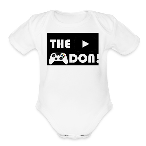 The Don's Official Shirt - Organic Short Sleeve Baby Bodysuit