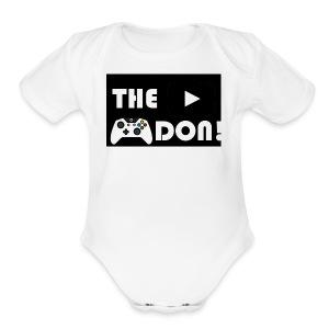 The Don Merch - Short Sleeve Baby Bodysuit