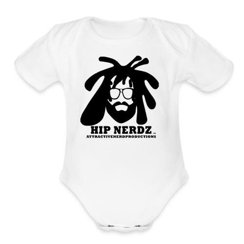 HIPNERDZ - Organic Short Sleeve Baby Bodysuit