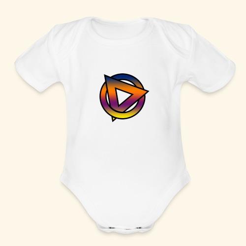 dario1 - Organic Short Sleeve Baby Bodysuit