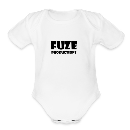 FuZe Production's Merch - Organic Short Sleeve Baby Bodysuit