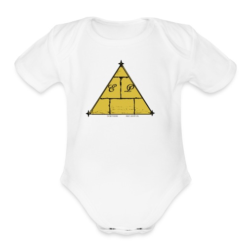 EP Logo - Organic Short Sleeve Baby Bodysuit