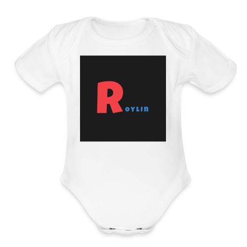 Roylin squad - Organic Short Sleeve Baby Bodysuit