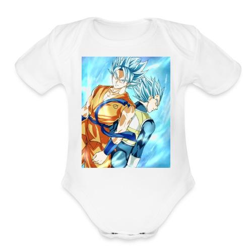 Dragon Ball Super - Organic Short Sleeve Baby Bodysuit