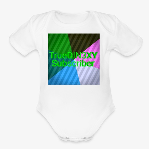 15550000333333333222222266666667777777222222221234 - Organic Short Sleeve Baby Bodysuit