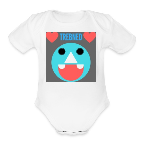 Trebned - Organic Short Sleeve Baby Bodysuit