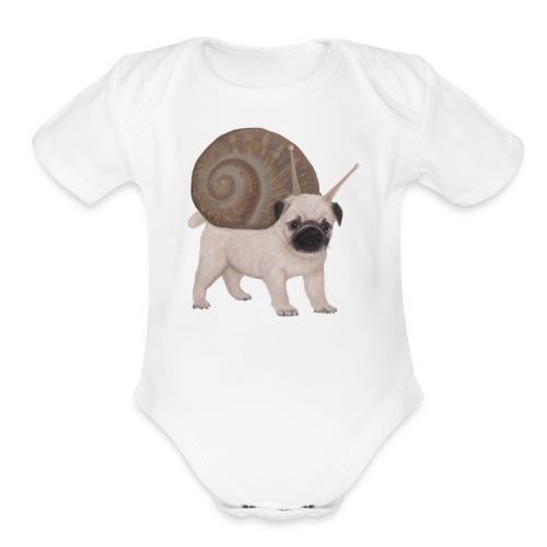 Snug - Organic Short Sleeve Baby Bodysuit