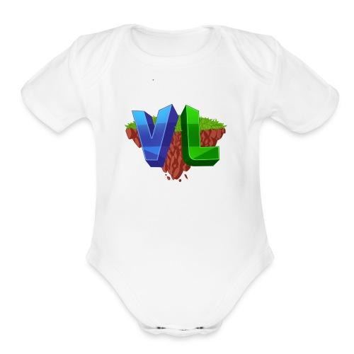 Basic Design - Organic Short Sleeve Baby Bodysuit
