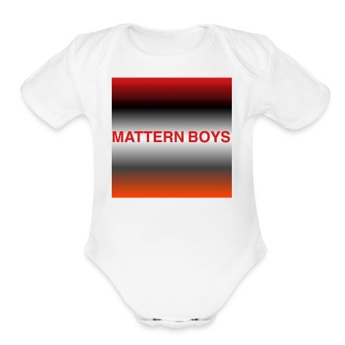 IMG 1022 - Organic Short Sleeve Baby Bodysuit