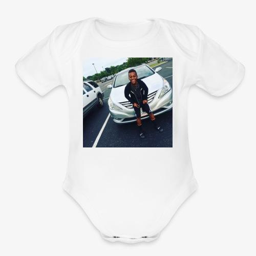 Styless merch - Organic Short Sleeve Baby Bodysuit