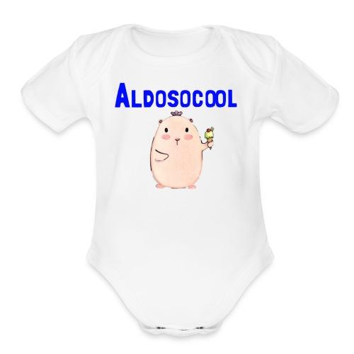Guinea pig merchandise - Organic Short Sleeve Baby Bodysuit