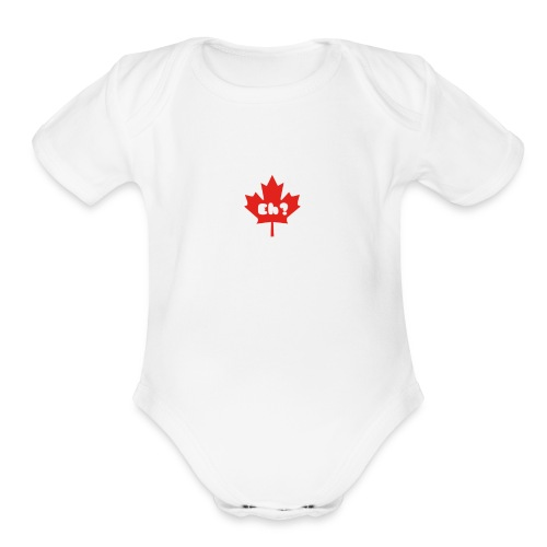 Eh - Organic Short Sleeve Baby Bodysuit