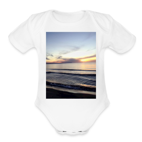 limitless - Organic Short Sleeve Baby Bodysuit