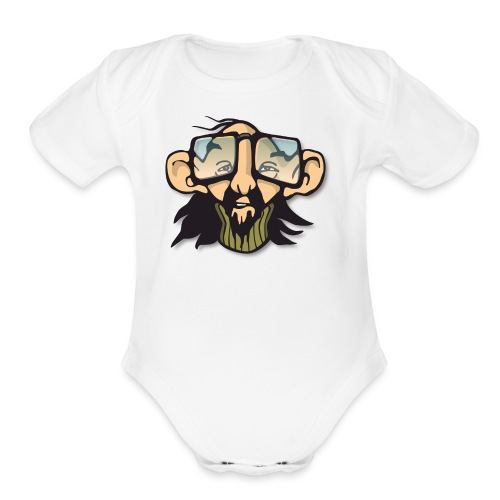Geek - Organic Short Sleeve Baby Bodysuit