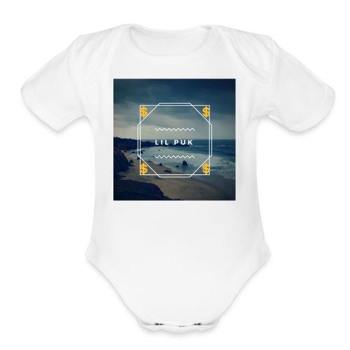 Lil puk - Organic Short Sleeve Baby Bodysuit