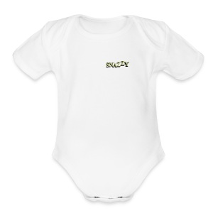 snazzy Ware - Short Sleeve Baby Bodysuit
