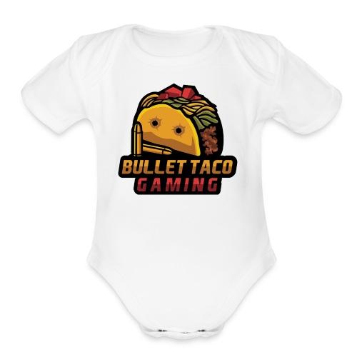 Bullet Taco Gaming - Organic Short Sleeve Baby Bodysuit