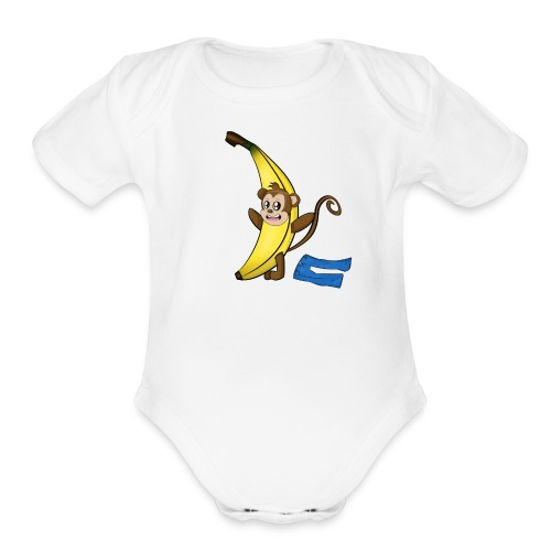I'm a little banana! - Organic Short Sleeve Baby Bodysuit