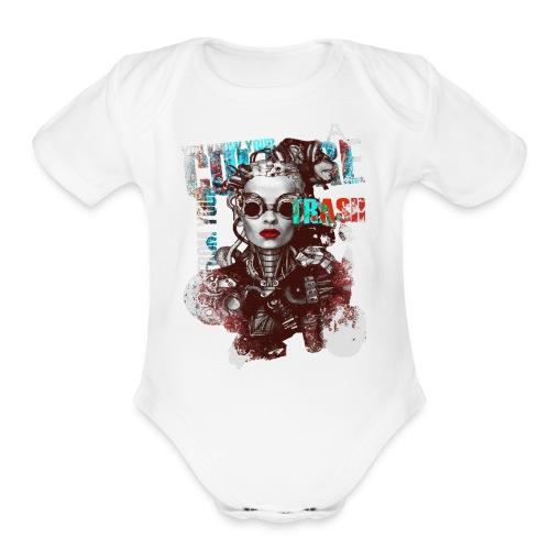 New Fashion T-shirts Women Paris - Organic Short Sleeve Baby Bodysuit