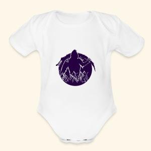 Skunkape - Short Sleeve Baby Bodysuit