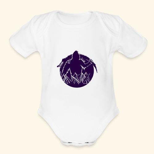 Skunkape - Organic Short Sleeve Baby Bodysuit