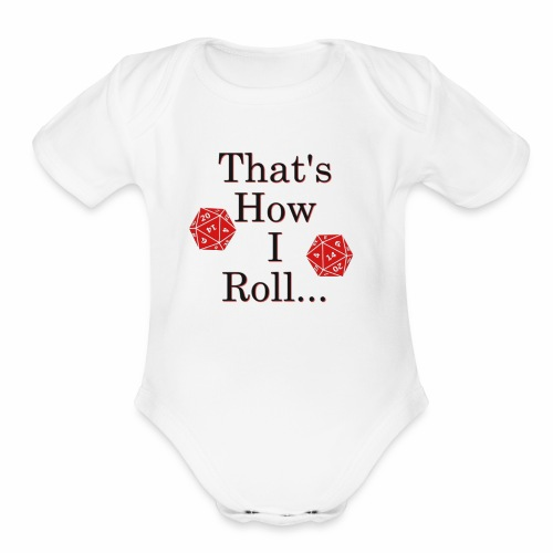 We be Rolling - Organic Short Sleeve Baby Bodysuit