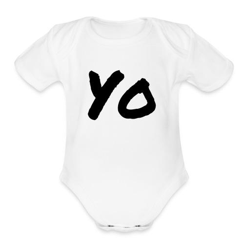 Yo - Organic Short Sleeve Baby Bodysuit