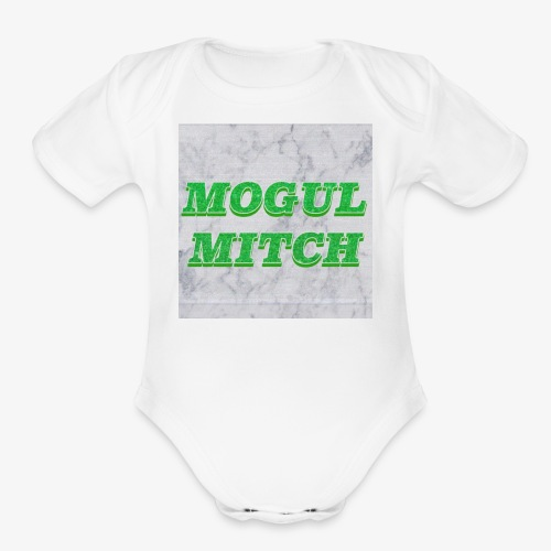 GREEN MOGUL - Organic Short Sleeve Baby Bodysuit