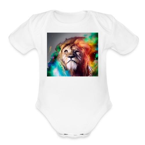 FAZETEEQOTEN - Organic Short Sleeve Baby Bodysuit