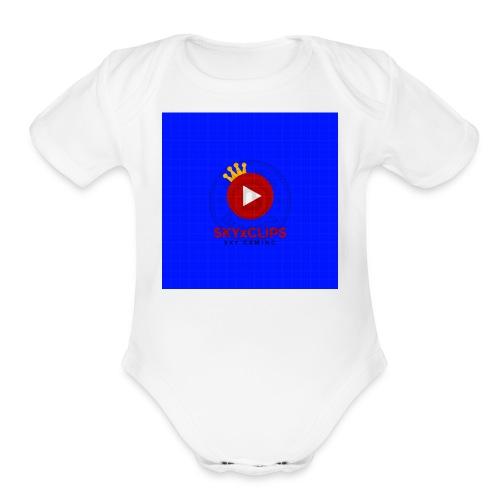 SKYxCLIPS 1504568877918 - Organic Short Sleeve Baby Bodysuit