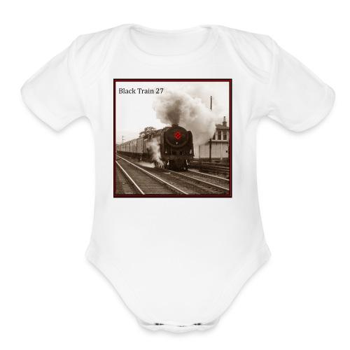 Album Cover BT27 Hi Rez sepia final jpg - Organic Short Sleeve Baby Bodysuit