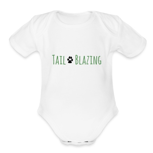 Tail Blazing - Organic Short Sleeve Baby Bodysuit