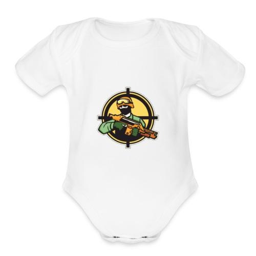 EaiKatcher Kids T-Shirt - Organic Short Sleeve Baby Bodysuit