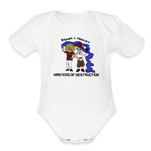 Masters of Destruction - Organic Short Sleeve Baby Bodysuit