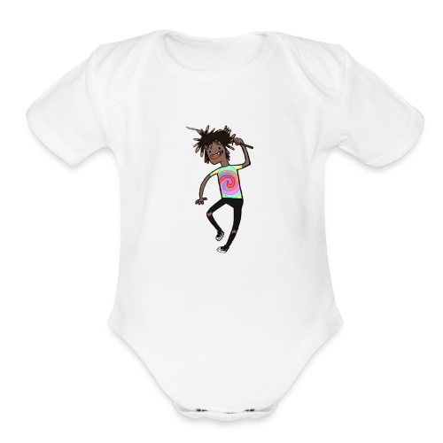 Luciid Adventure - Organic Short Sleeve Baby Bodysuit