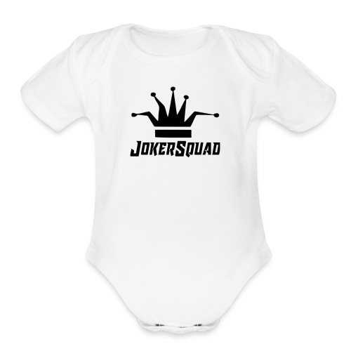JokerSquad Merch - Organic Short Sleeve Baby Bodysuit