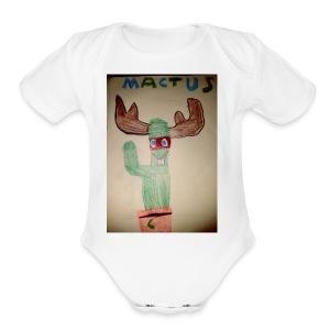 Mactus Jerry and me - Short Sleeve Baby Bodysuit