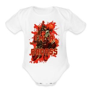 Deadpool - Short Sleeve Baby Bodysuit