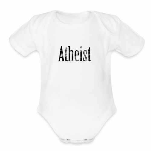 Faded Atheist - Organic Short Sleeve Baby Bodysuit