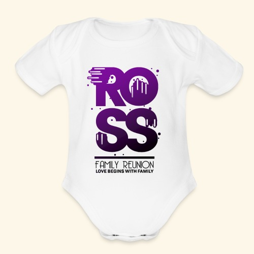 Ross Family Reunion - Organic Short Sleeve Baby Bodysuit