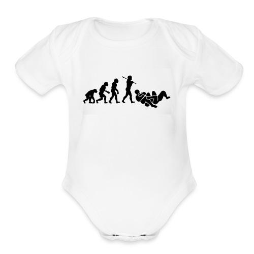jits - Organic Short Sleeve Baby Bodysuit