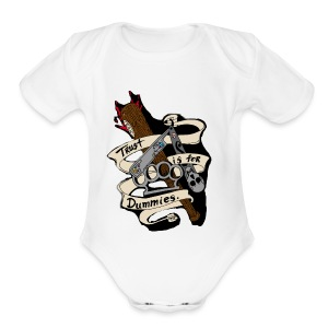 Og team bah - Short Sleeve Baby Bodysuit