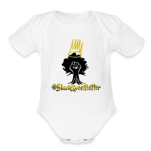BLM Shirts - Organic Short Sleeve Baby Bodysuit